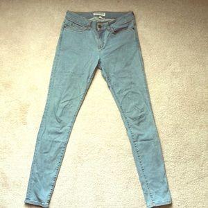 American Apparel Stretch Skinny Jeans